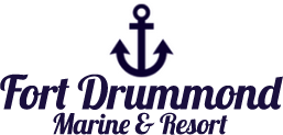 Fort Drummond Marine & Resort, Logo